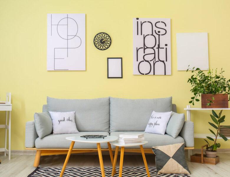 Raviver votre style de déco avec la couleur du moment: le jaune